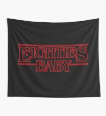 Eighties Baby Wall Tapestry