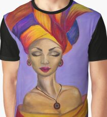 African Queen Graphic T-Shirt