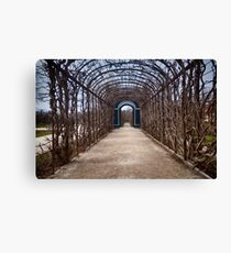 Leading to infinity Canvas Print
