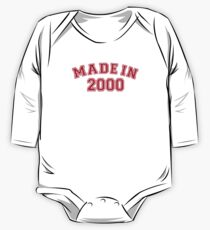 Made in 2000 One Piece - Long Sleeve