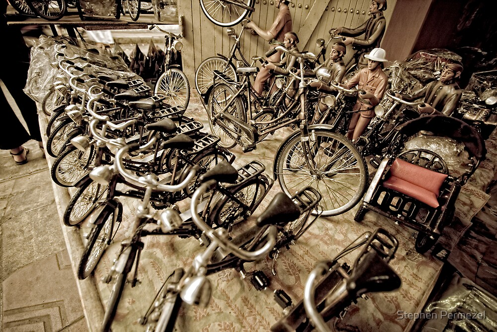 Becaks and bicycles yogyakarta indonesia by stephen for Home decor yogyakarta