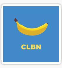 Pegatina Logotipo de CLBN Banana