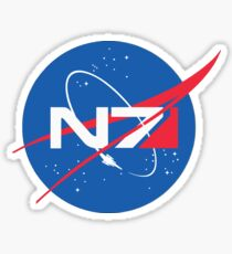 N7 NASA Mass Effect  Sticker