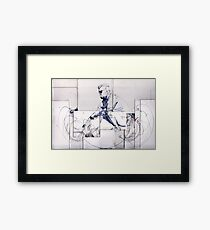 Recycle Drawing # 2 Framed Print