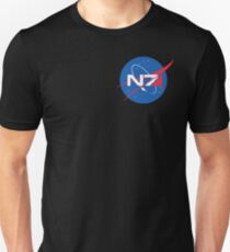 N7 NASA Mass Effect  Unisex T-Shirt