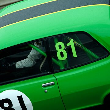 The loneliness of the long distance racing car driver by nickpage