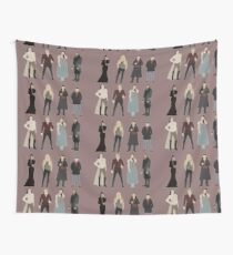 OUAT Main Characters Wall Tapestry