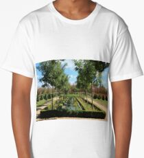 French garden. Long T-Shirt