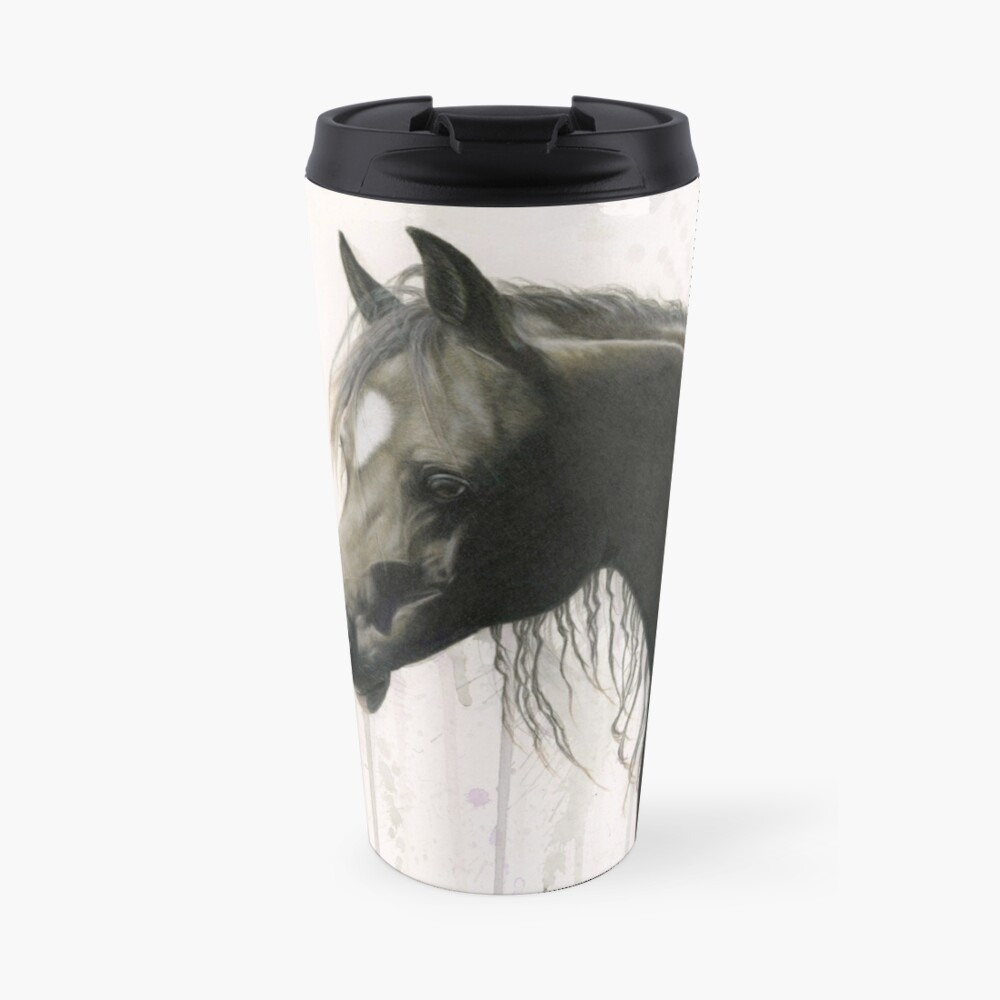 Dark Horse Running Travel Mug