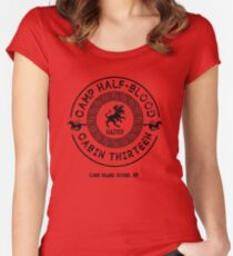 Cabin Thirteen - Hades - Percy Jackson - Camp Half-Blood Women's Fitted Scoop T-Shirt