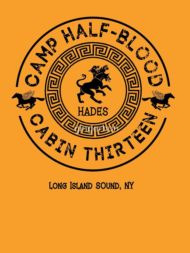 Cabina Trece - Hades - Percy Jackson - Campamento mestizo de gingerbun