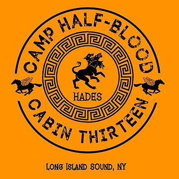 Cabin Thirteen - Hades - Percy Jackson - Camp Half-Blood by gingerbun
