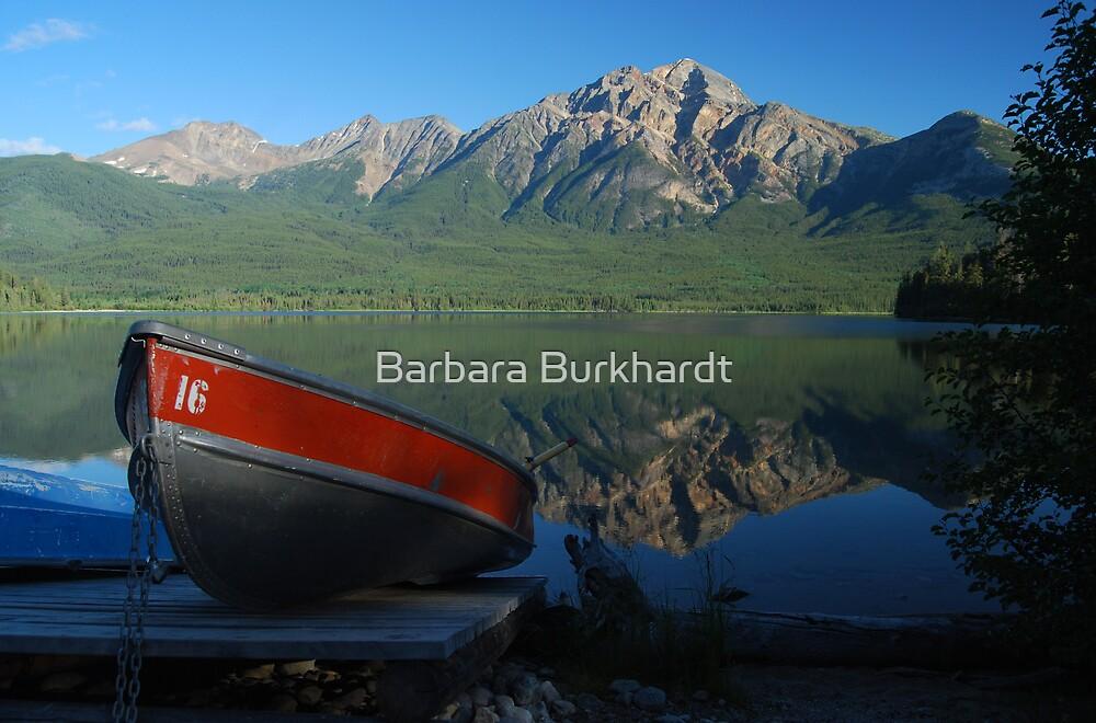 Boat Hire - Patricia Lake by Barbara Burkhardt