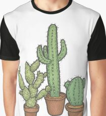 Wonderful Cacti Graphic T-Shirt
