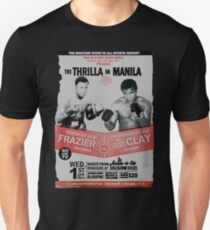 The Thrilla in Manila - FRAZIER VS ALI Unisex T-Shirt