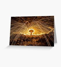 Shower of Power Greeting Card