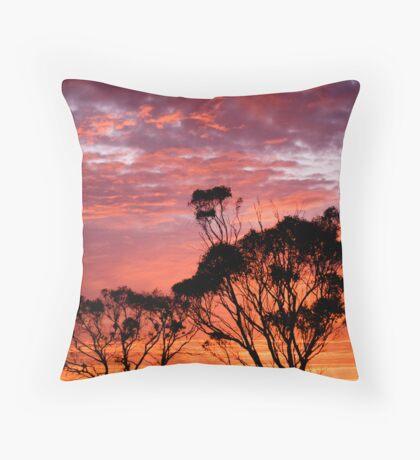 Sunrise delight Throw Pillow