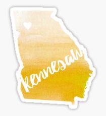 Kennesaw Sticker