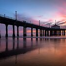 Manhattan Beach Sunset #3 by Graham Gilmore