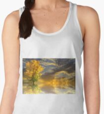 Stunning Autumn Trees Landscape Women's Tank Top