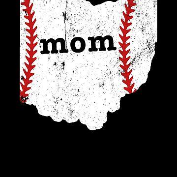 Teeball Mom Shirt Ohio Shirt by shoppzee