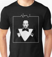 klaus nomi black Unisex T-Shirt