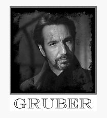 Hans Gruber Photographic Print