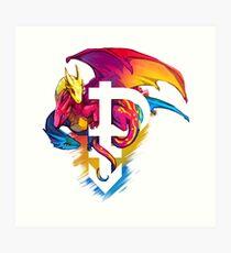 Lámina artística Pan Pride Dragon