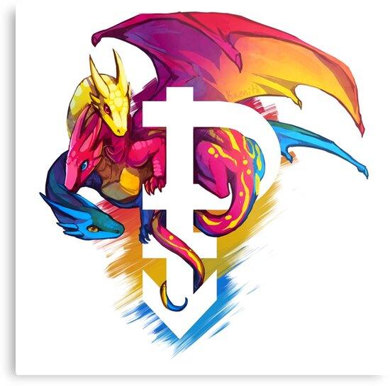 Pan Pride Dragon by kaenith