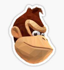 Donkey Kong - Triangulation Vector Sticker