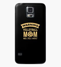 Funny Volleyball Apparel Case/Skin for Samsung Galaxy