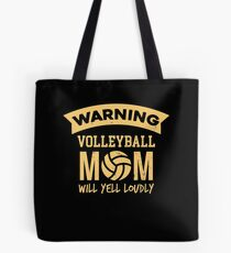 Funny Volleyball Apparel Tote Bag
