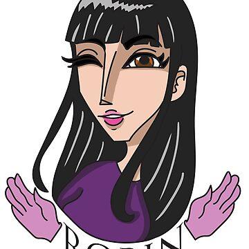 Nico Robin by SexySeamonster