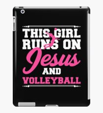 Funny Girl Jesus Volleyball Apparel iPad Case/Skin
