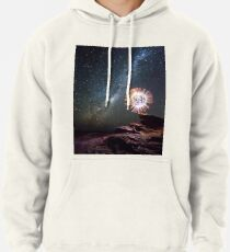 An orb and the Milky Way Pullover Hoodie