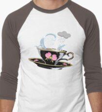 Storm in a Black China Teacup Men's Baseball ¾ T-Shirt