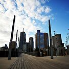 Melbourne Skyline by Alvin Wong