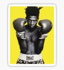 Basquiat Graphic Shirt Sticker