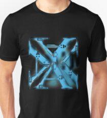 letter A blueblack Unisex T-Shirt