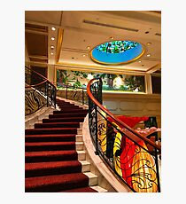 Hotel Grand Staircase Photographic Print
