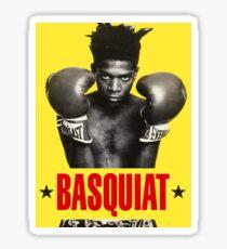 Basquiat T-shirt Sticker