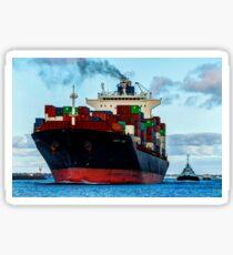 Containerschiff # 2 Sticker