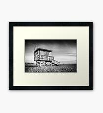 Santa Monica Sunset #5  Framed Print