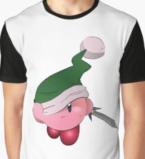 Kirby with Sword Graphic T-Shirt