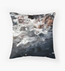 finding breathing room 3 Throw Pillow
