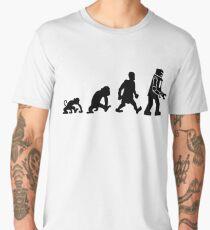 evolution darwin robot Men's Premium T-Shirt
