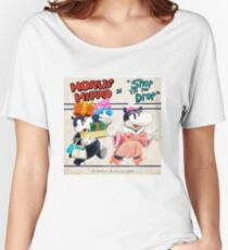 """Horus Hippo in """"Shop 'Till You Drop"""" Relaxed Fit T-Shirt"""