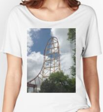 Top Thrill Dragster - Cedar Point Women's Relaxed Fit T-Shirt