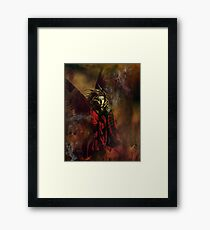 no more tears in hell Framed Print