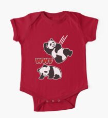 WWF Panda One Piece - Short Sleeve